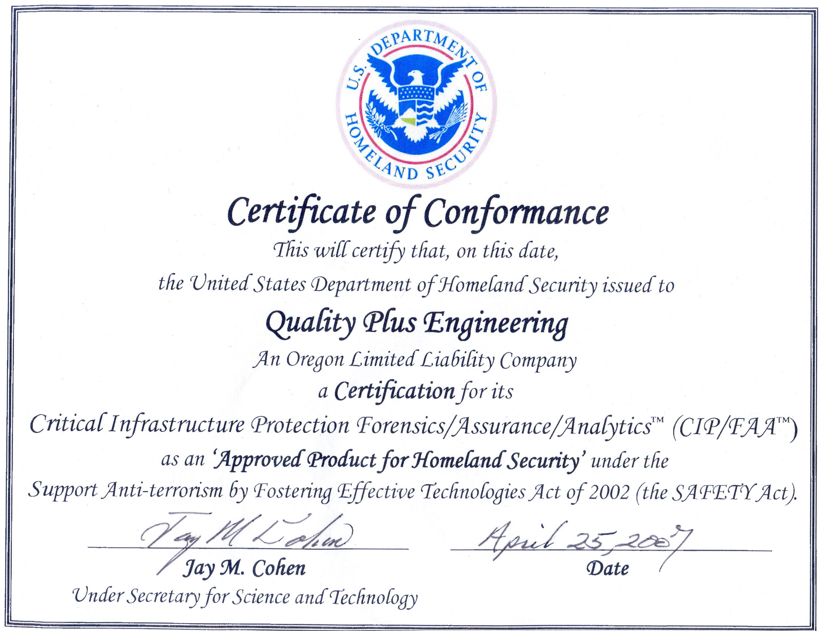 Certified Enterprise Risk Manager Electric Reliability
