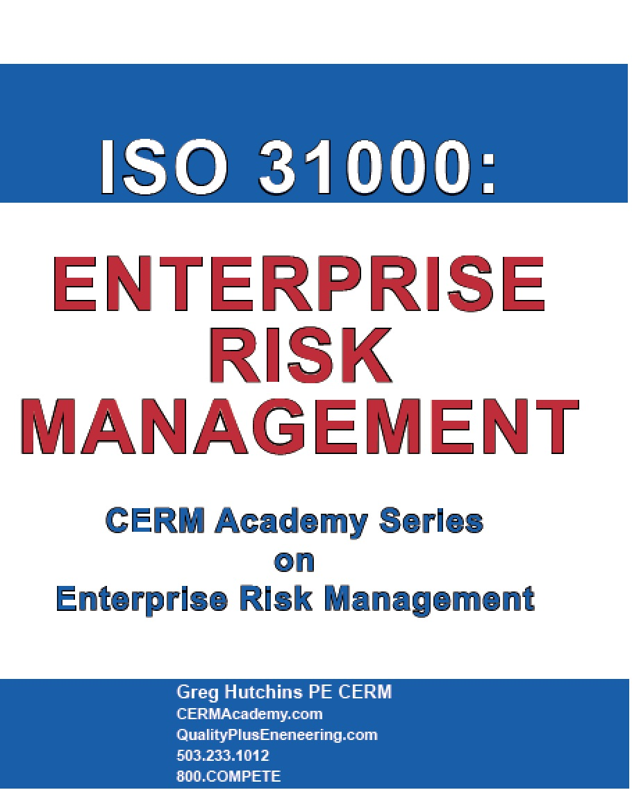 Enterprise Risk Management Certification